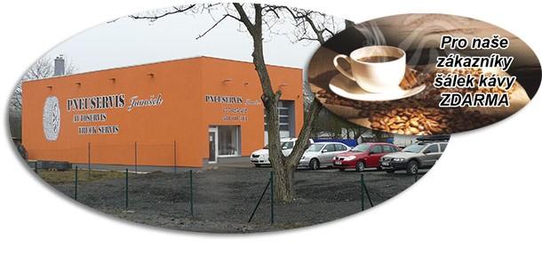 Pro naše zákazníky šálek kávy ZDARMA